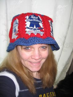 6065252062d beer can crochet hat pattern - Yahoo Search Results Coke Can Crafts