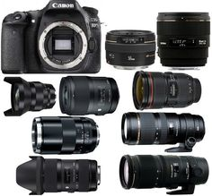 Best Lenses for Canon EOS 80D DSLR camera. Looking for recommended lenses for… #DslrCameras