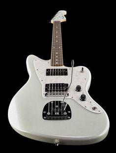 Fender SE White Opal Jazzmaster HH - Thomann www.thomann.de limited edition #white #beautiful #guitar #fender #jazz