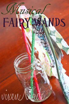 Musical Fairy Wands