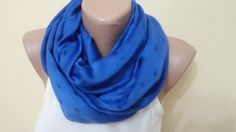 Scarf  Navy Blue Scarf Women Accessory women by BloomedFlower, $25.00