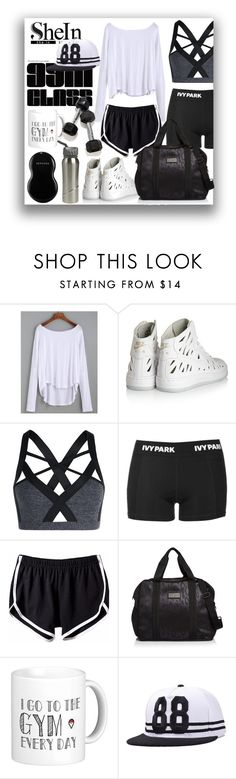 """gym class"" by ztugceuslu ❤ liked on Polyvore featuring NIKE, Topshop, adidas and Sephora Collection"