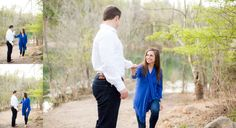 Meads Quarry Engagement :: Knoxville Tennessee Engagement Photographers :: Eden…