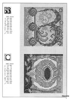 Zweigart Celtic alphabet 3