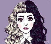 hair, melanie martinez , hairstyle, blonde, wallpaper