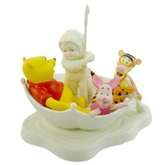 Dept 56 Snowbabies Blustery Day with Pooh
