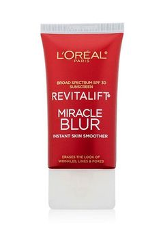 L'Oréal Revitalift Miracle Blur Primer, 59 Drugstore Products Hollywood's Top Makeup Artists Love