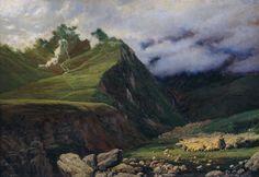 Nikolaj Jaroschenko, In the Mountains of the Caucasus. Musée régional d'art de Poltava