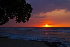 Sunset on the Big Island, Hawaii