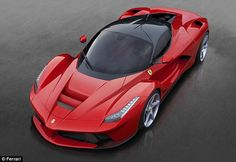 LaFerrari: Fastest-ever supercar electric hybrid with top speed of 220mph (and a £1m price tag) | Mail Online