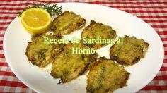 Receta fácil de Sardinas al Horno - YouTube