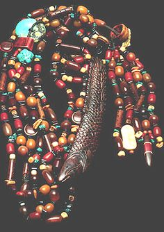 Chinese Fish Necklace by Mary Hicklin (Virgo Moon)