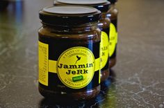 Jammin' JeRk Marinade Paste- Mild. Traditional Jamaican smoky aromatic flavours with a lashing of scotch bonnets! #jamminjerk #jerksauce #jerkmarinade #jamaicanjerk #jerkchicken #marinadepaste #marinade #mild