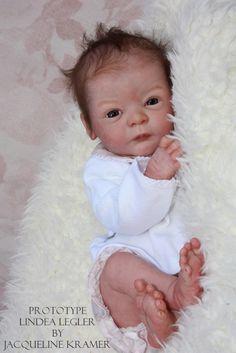 LIndea by Gudrun Legler | Reborn Doll Kits | Pinterest