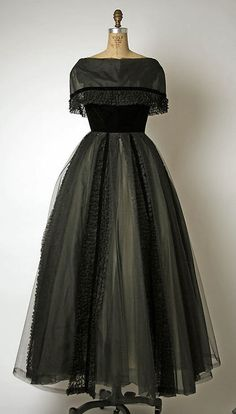 Dress  Pierre Balmain, 1950s  The Metropolitan Museum of Art
