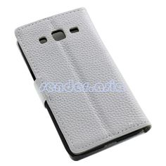 Genuine Leather Stand Protective Case for Samsung Galaxy Core Prime SM-G3608