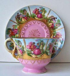 Porcelain Teacup Set