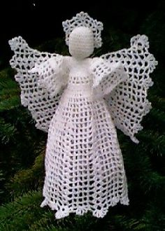 Filet Tree Top Angel