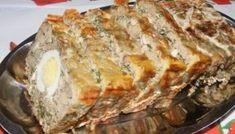 Drob de porc – Reteta pentru Craciun Pickling Cucumbers, Romanian Food, Yummy Food, Tasty, Lasagna, Lamb, Deserts, Appetizers, Meat