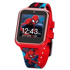 Spiderman iTime Smart Kids Watch 40 MM from brand. Best Kids Watches, Boys Watches, Smartwatch, Best Selfies, Ibiza, Video Camera, Display Case, Gifts, Kids Smart
