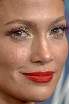 24 trendige Make-up-Ideen von Jennifer Lopez Smokey Eye Jlo Makeup, Makeup Tips, Beauty Makeup, Hair Makeup, Makeup Ideas, Jennifer Lopez Makeup, Jacqueline Fernandez, Alicia Keys, No Photoshop