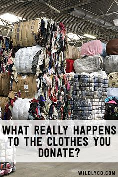 How often do you drop off clothes at your local charity shop? If you're anything like the rest of the country, Goodwill and Salvation Army are the perfect resou