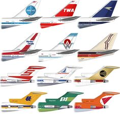 Gate 72 | Commercial Classics (BOEING) - Vintage Airliners T-Shirt | Online Store Powered by Storenvy