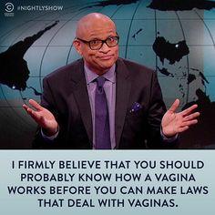"""Larry Wilmore always keeps it 100 on @TheNightlyShow. #NightlyShow"""