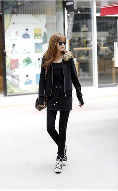 Best Winter Clothes New Fashion Women's Temperament Plus Velvet Long-sleeved Hooded Sweater Leisure Suit Online with $27.23| DHgate