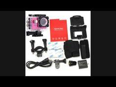 ถูกสุดๆ JC Gadget Action Camera FHD 1080p No WiFi ( สีชมพู )