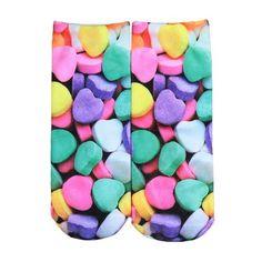 Printed Ankle Socks | Shop Elettra |