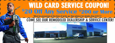 Wild Card service coupon for Quicklane in Rochester, NY. Save on your car service and repairs! Valpak coupon