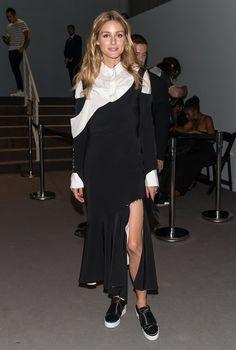 Olivia Palermo's Outfits at Fashion Week Spring 2017 | POPSUGAR Fashion
