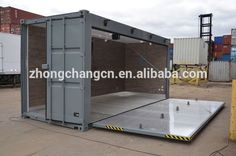 Container bar with patio. Container Home Designs, Container Office, Container Shop, Cargo Container, Shipping Container Buildings, Shipping Container Design, Shipping Containers, Container Conversions, Garage Conversions
