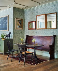 The boutique-style property is decorated with vintage, collegiate and Colonial-style furnishings. There is a hip lobby café, a retro bar with table games, plus a chic bar/restaurant featuring a rooftop terrace.