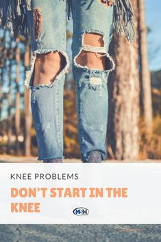 So what causes knee pain?