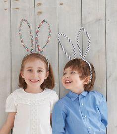 DIY Easter bunny ears. #easter