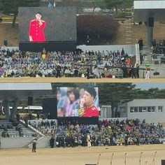 [OTHER SNS + PICS + VIDS] 160304 Corporal Kim Jaejoong's Performance in Commencement Ceremony for ROK