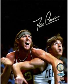 Dave Cowens vs Bill Walton Photo (Getty This photo has been personally hand-signed by Basketball Hall of Famer Dave Guaranteed AuthenticIncludes Steiner Sports Certifi Boston Celtics, Nba Players, Basketball Players, Dave Cowens, Basket Nba, Bill Walton, Doc Rivers, Dominique Wilkins, Chris Webber