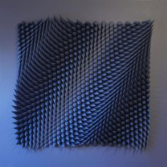 Artist Matthew Shlian creates 3D paper sculptures that transform the everyday material into mesmerizing tessellations.