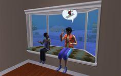 Window Seat - convert to Sims 4!!!