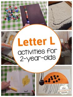 Alphabet Activities for 2-year-olds - The Measured Mom