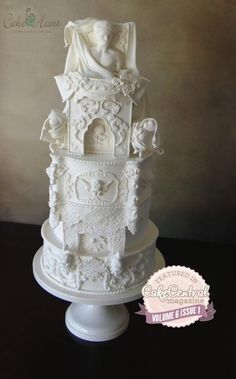 Rococo ~ Cake Central Magazine Volume 6 Issue 1 - Cake by Cake Heart