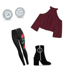 """""""LOVE ❤️ x"""" by milliebeth84 on Polyvore featuring W118 by Walter Baker and Off-White"""