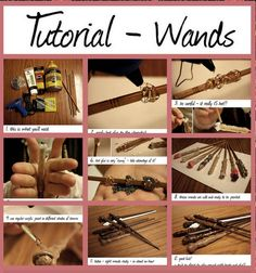 how to make harry potter wands - for my sister - is this the one?