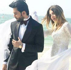 Romantic Couples Photography, Couple Photography, Cute Girl Pic, Cute Girls, Bilal Abbas Khan, Wedding Lehenga Designs, Classy Couple, Pakistani Actress, Pakistani Dramas