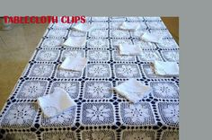 tablecloth clips