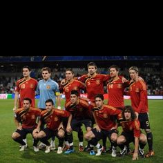 Spain International Soccer Team. They gotta win it this year!