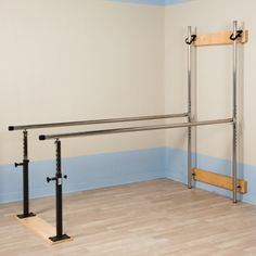 """Physical Therapy Parallel Bars, Folding style, 84""""w"""