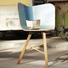 Denim Tria Chair by Colé | MONOQI